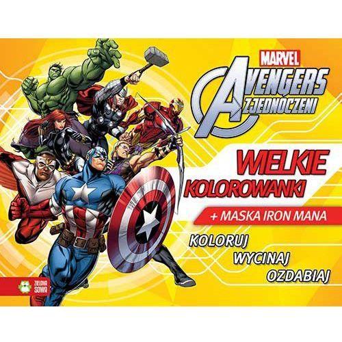 Praca zbiorowa Avengers. wielkie kolorowanki + zakładka do książki gratis (9788379834846)