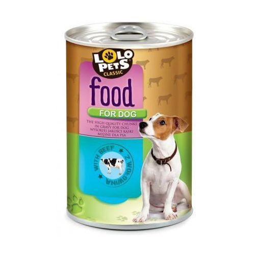 food for dog wołowina 410g marki Lolo pets