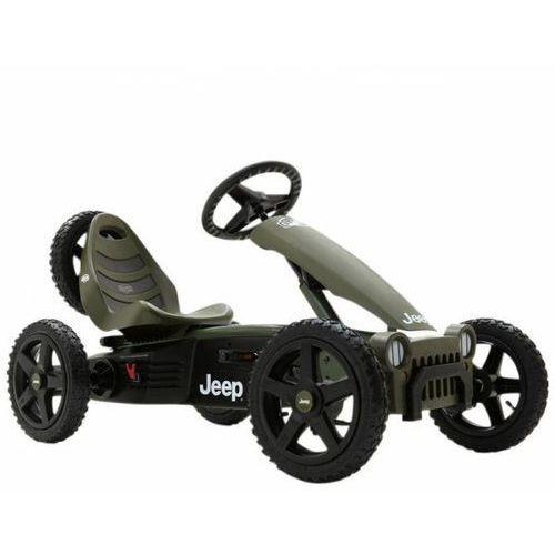 BERG Gokart Jeep® Adventure Pompowane koła 4-12 lat do 60 kg