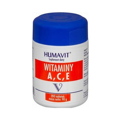 Tabletki Humavit V - Witaminy A,C,E 200 tabl.