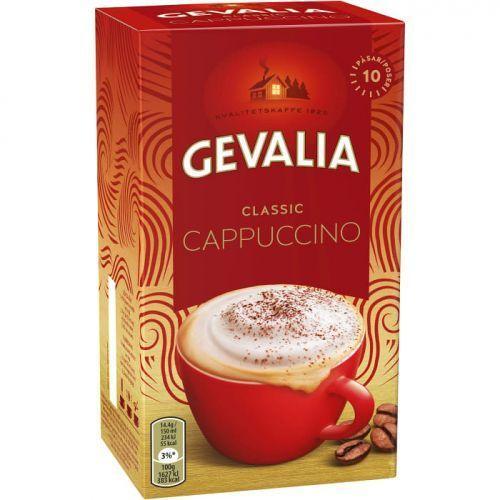 Gevalia Classic - kawa cappuccino - saszetki - 10x14,4g