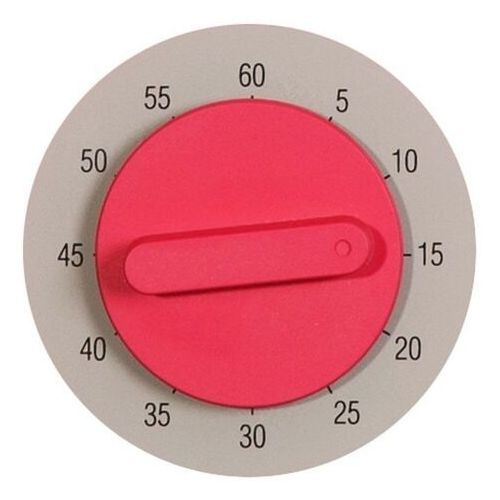 Nextime Zegar kuchenny z minutnikiem hans różowy (3097 rz)