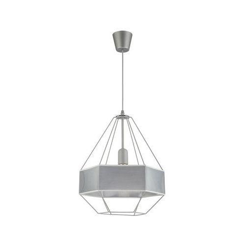 Tk lighting Żyrandol na drutu cristal new 1xe27/60w/230v szary