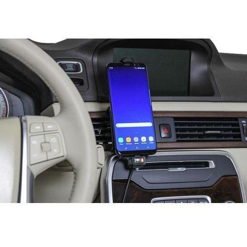 Uchwyt do Samsung Galaxy S9+ w futerale z wbudowanym kablem USB oraz ładowarką samochodową (7320285219656)
