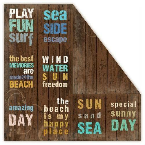 Creativehobby Ozdobny papier loft marina 30,5x30,5 cm - board - boar