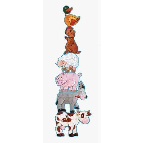 , daisy i jej przyjaciele, puzzle, 6 elementów, marki Djeco
