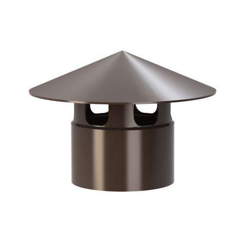 Wirplast Wywiewka wentylacyjna k402 fi 110 mm brązowa