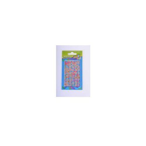 Ozdoba dekoracyjna krysztalki samoprzylepne koloro marki Craft with fun