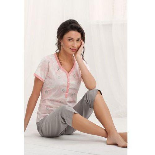 Piżama damska model arcadia 572 łosoś marki Luna