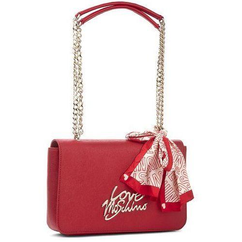 Torebka LOVE MOSCHINO - JC4046PP15LE0500 Rosso, kolor Czerwony