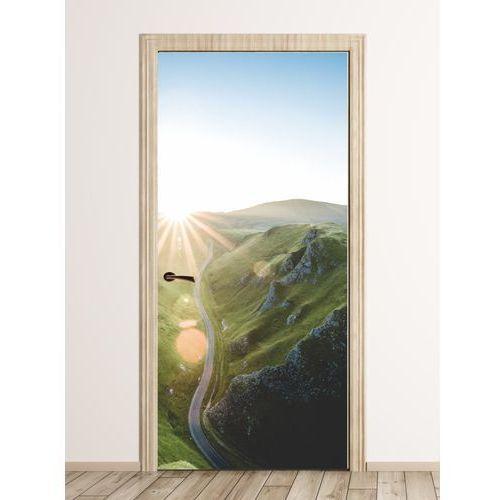 Wally - piękno dekoracji Fototapeta na drzwi góry skąpane słońcem fp 4206