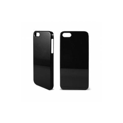 KSIX Etui HARD COVER Shine dedykowane do Apple iPhone SE/5S/5 - czarne Odbiór osobisty w ponad 40 miastach lub kurier 24h - produkt z kategorii- Futerały i pokrowce do telefonów