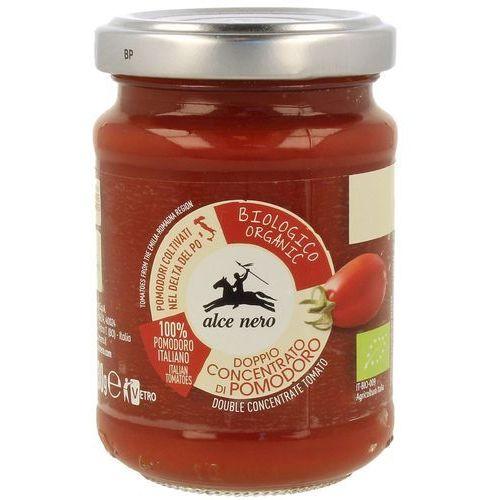 Koncentrat pomidorowy 28% bio 130 g - alce nero marki Alce nero (włoskie produkty)