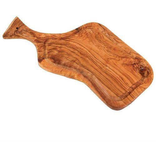 Deska do krojenia drewno oliwne   360 - 500mm