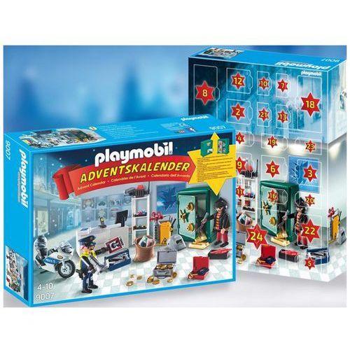Playmobil CHRISTMAS Kalendarz adwentowy - akcja policyjna w sklepie jubilerskim 9007