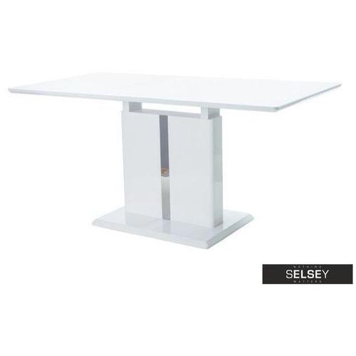 -10% SELSEY Stół rozkładany Vilar 110-150x75 cm biały