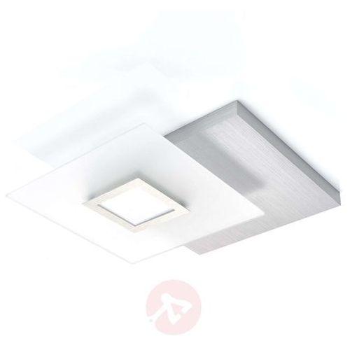 Bopp Atrakcyjna lampa sufitowa led flat, ściemniana