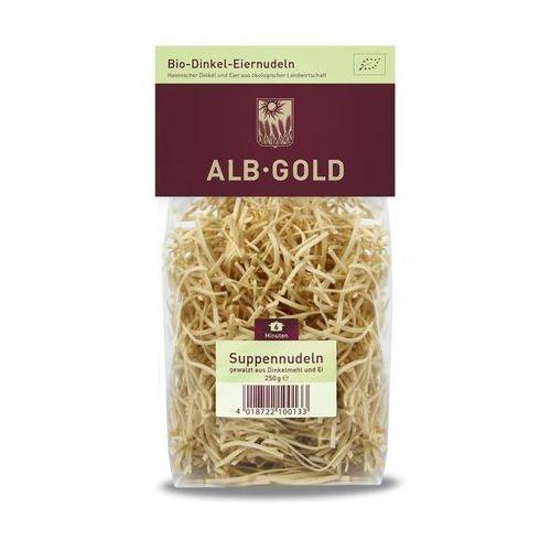 Alb gold Makaron orkiszowy jajeczny nitka bio 250g - (4018722100133)