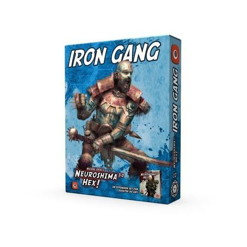 Neuroshima hex: iron gang (edycja 3.0) - marki Portal games