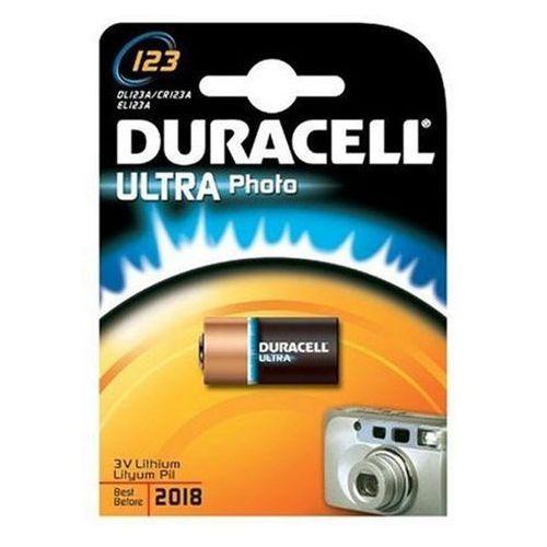 bateria foto litowa Duracell CR123, DUR12