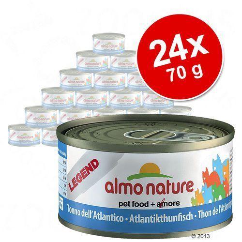 Almo nature  tuńczyk z sardynkami - puszka 12x70g (8001154001655)