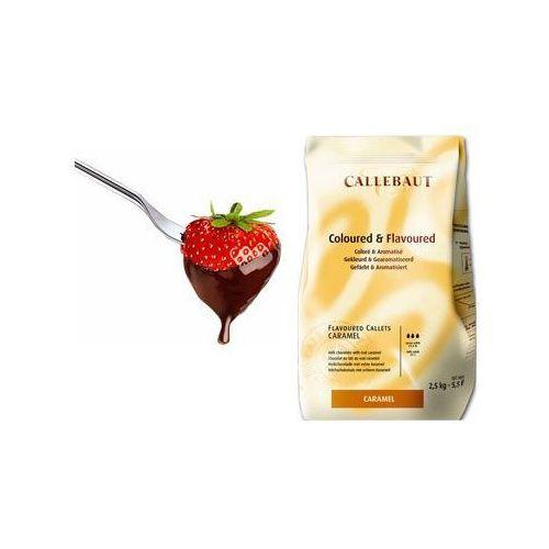 Czekolada karmelowa do fondue oraz fontann | 2,5 kg marki Callebaut