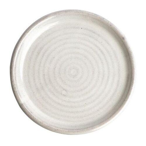 Olympia Okrągły talerz o wąskim brzegu murano biały 180mm canvas (zestaw 6 sztuk)