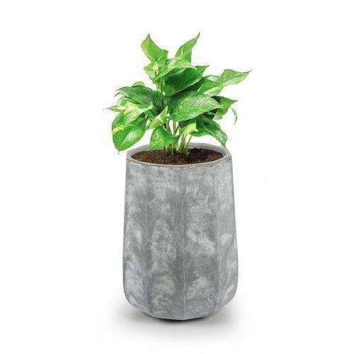 Blumfeldt Decaflor Doniczka na rośliny 40x50x40cm włókno szklane do wewnątrz/na zewnątrz jasnoszary