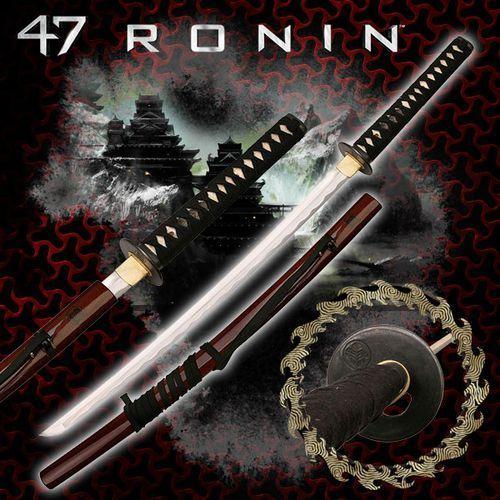 Usa Ręcznie kuty miecz samurajski katana z filmu 47 roninów (mc-47r001)