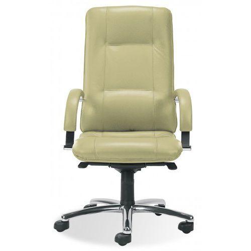 Fotel gabinetowy STAR steel04 chrome - biurowy, krzesło obrotowe, biurowe