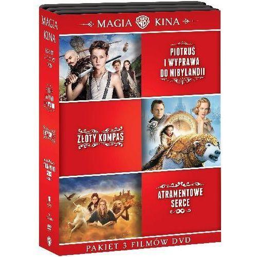 Kolekcja: Piotruś. Wyprawa do Nibylandii / Złoty kompas / Atramentowe serce (DVD) - Joe Wright DARMOWA DOSTAWA KIOSK RUCHU