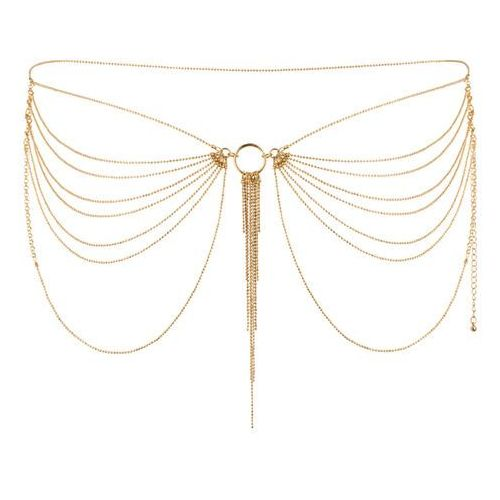 Bijoux indiscrets Niezwykła ozdoba pas z łańcuszków -  magnifique waist jewelry złoty