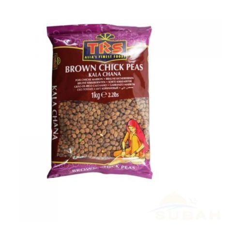 Trs Brown chick peas - kala chana 1kg