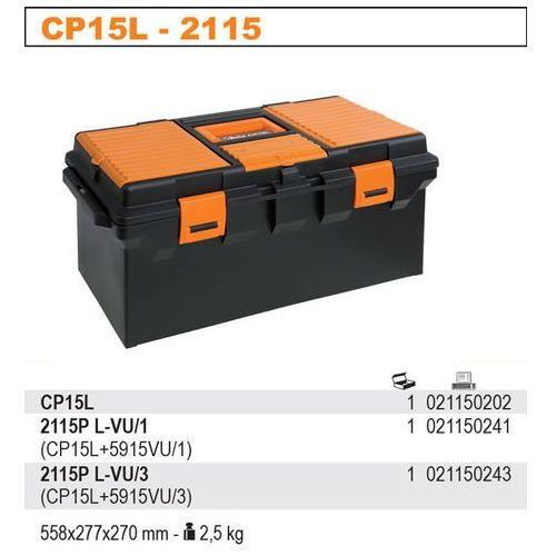 Beta Skrzynka narzędziowa 2115/cp15l z zestawem 45 narzędzi, model 2115pl-vu/1, kategoria: skrzynki narzędziowe