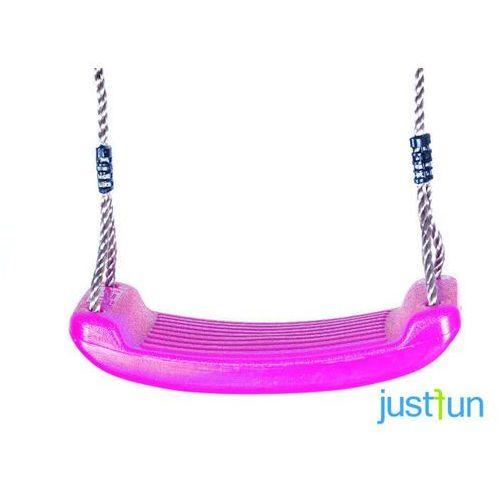 Huśtawka plastikowa - różowy marki Just fun