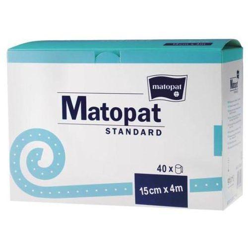 Matopat Standard- bandaż podtrzymujący bawełniany 15cm x 4m, 40szt.