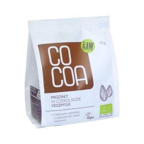 70g vegemylk migdały w czekoladzie bio marki Cocoa