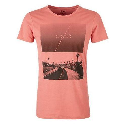 Q/S designed by T-shirt męski XL, pomarańczowy, kolor pomarańczowy