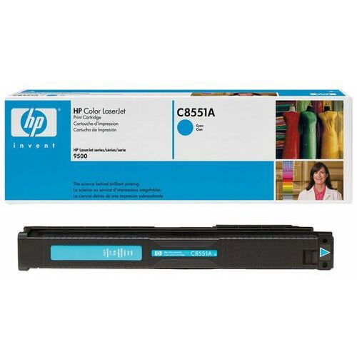 Wyprzedaż Oryginał Toner HP 822A do Color LaserJet 9500   25 000 str.   cyan