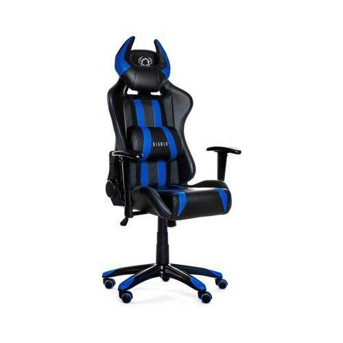 Diablo Fotel chairs x-one horn czarno-niebieski + 15% rabatu na tańszy produkt!
