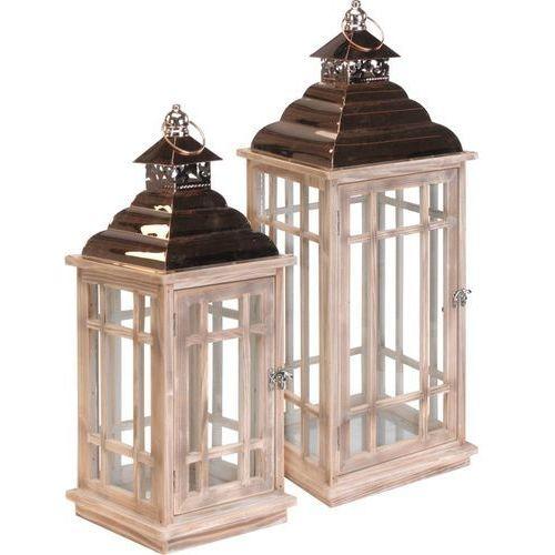 Gdzie Tanio Kupić Dekoracja Domu Stylowe Lampiony Drewniane