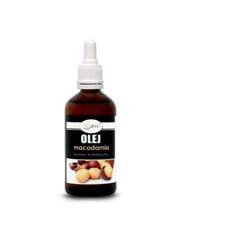 Olej macadamia surowiec kosmetyczny 100 ml marki Vivio