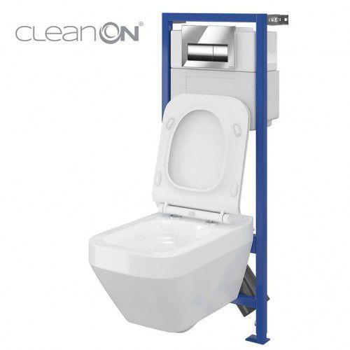 CERSANIT HI-TEC CREA Zestaw podtynkowy do WC Clean On S701-223