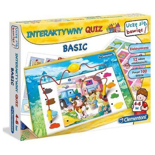 Clementoni Interaktywny quiz basic (8005125600625)