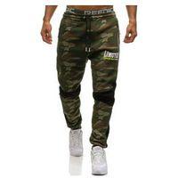 Spodnie męskie dresowe joggery multikolor Denley 3782A