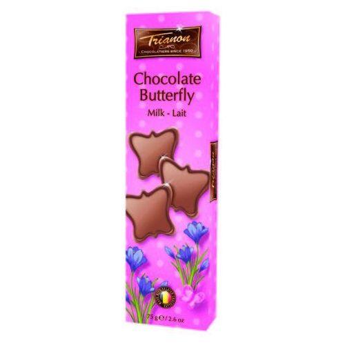 czekoladowe motyle z mlecznej czekolady 75g marki Trianon