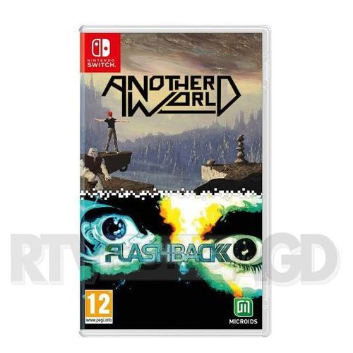 Another world & flashback double pack nintendo switch marki Microids