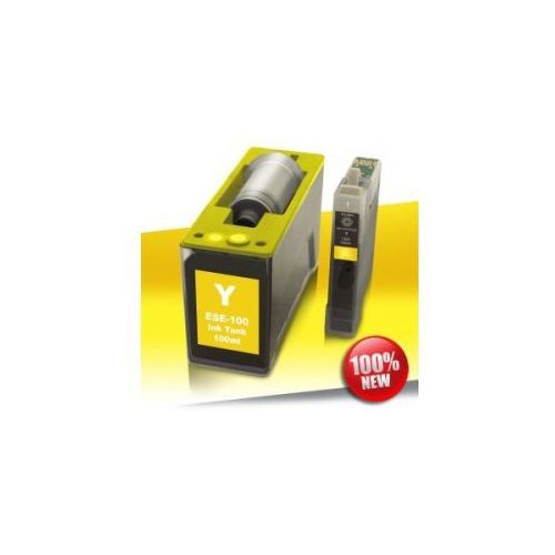 1 x Tusz do Epson 125 (T1284) SX YELLOW AutoReset+100 ml Eprom