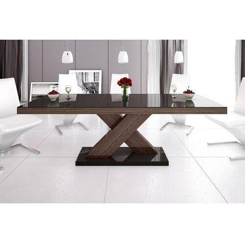 Stół rozkładany XENON 160-208 Brąz-dąb faro połysk