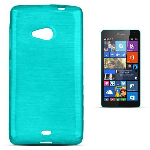 """Forcell """"jelly brush lumia 535"""" (blue) (5901737287588)"""
